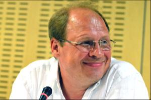 Klubis Impressum toimus kohtumine teleajakirjanik Aleksandr Gurnoviga