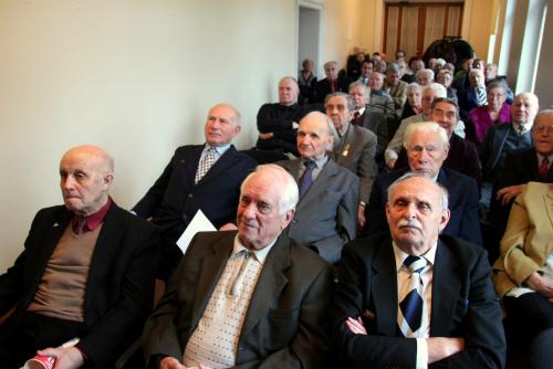 Ветераны-антифашисты отмечают 70-летний юбилей освобождения Эстонии от гитлеровских оккупантов