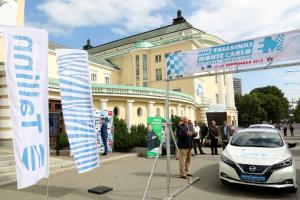 старт марафона электромобилей