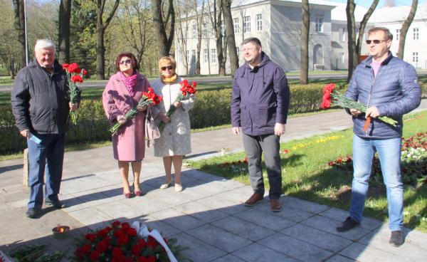 Руководители Кохтла-Ярве и городские чиновники