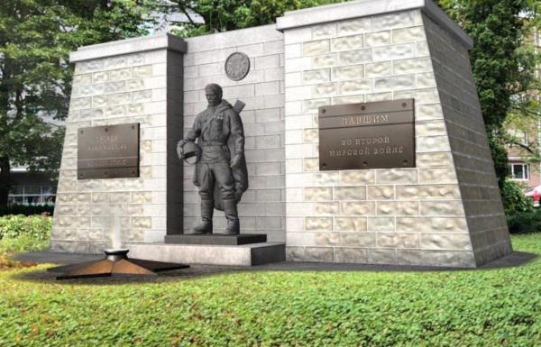 Цифровая версия Бронзового солдата