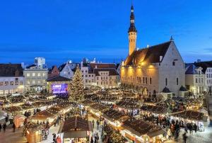 Таллинский Рождественский рынок