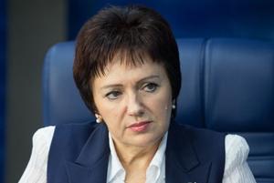 Член Совета Федерации России Елена Бибикова