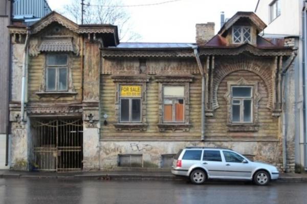 фасад дома в кадриоргской «русской слободе»