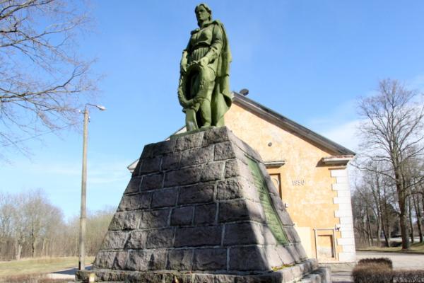 Памятник на братской могиле в Кохтла-Ярве